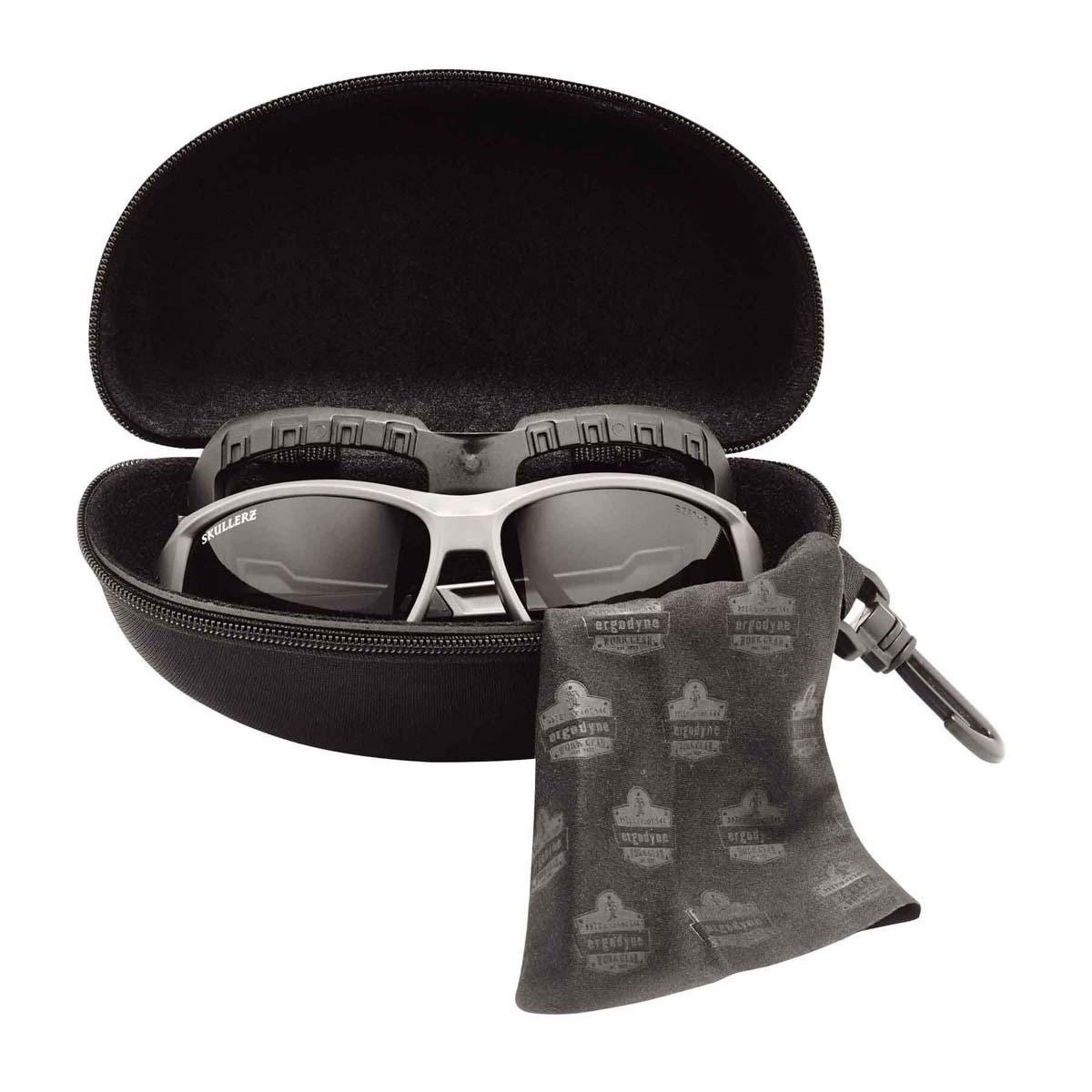 Ergodyne Skullerz 3222 Zipper Case w// Clip New,Free Shipping Black Case 19222
